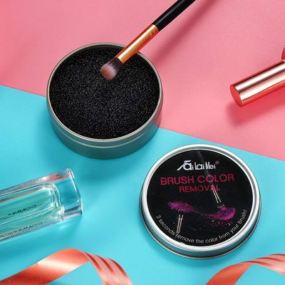 TailaiMei Makeup Brush Color Removal Sponge