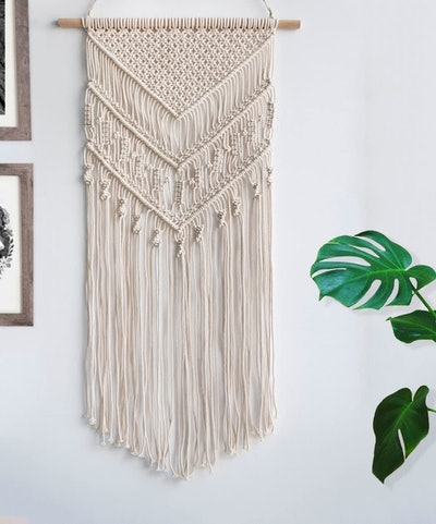 TIMEYARD Macrame Woven Wall Hanging