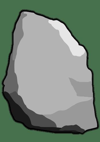 GoodFreePhotos gray clipart rock NFT