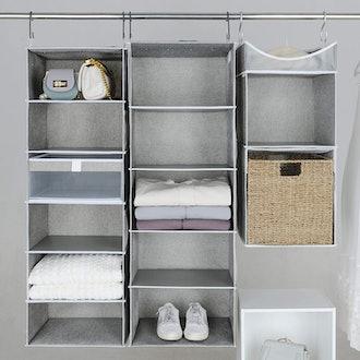 StorageWorks Hanging Closet Shelves