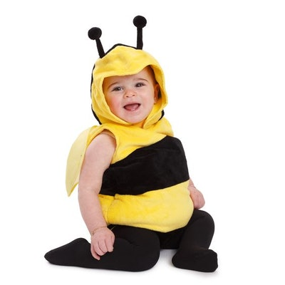 Fuzzy Little Bee Costume By Dress Up America
