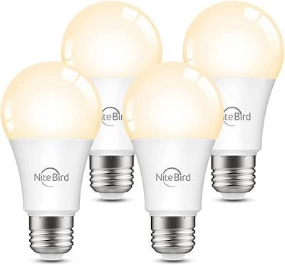 Nitebird Smart Dimmable LED Bulbs (Pack of 4)