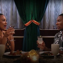 Riley and Maurissa on their first date on 'Bachelor in Paradise.' Screenshot via ABC