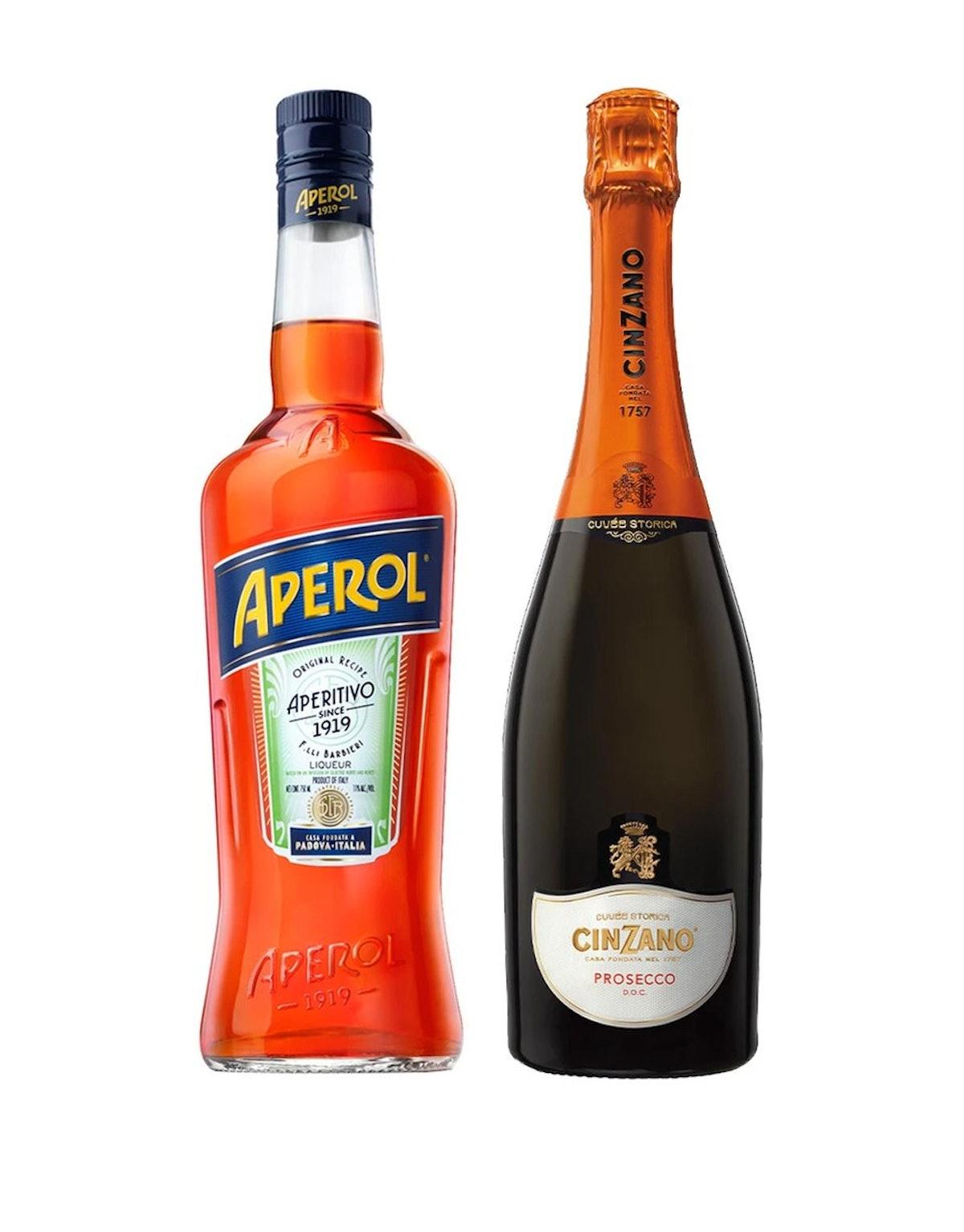 Aperol and Cinzano Gift Set