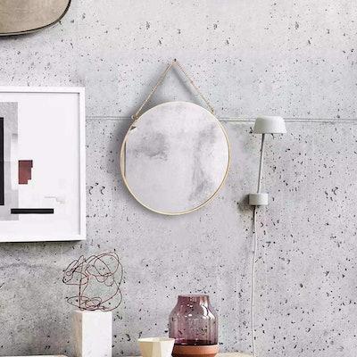 LONGWIN Hanging Wall Circle Mirror