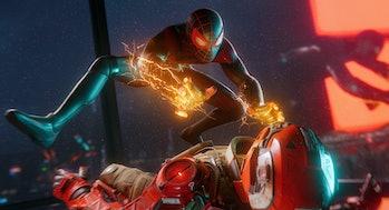 marvels s[iderman venom powers