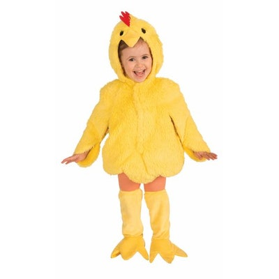 Toddler Plush Chicken Costume