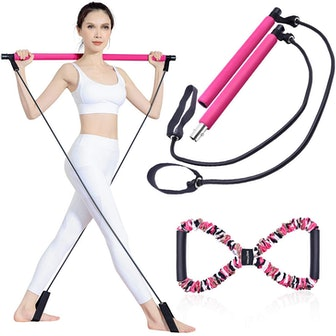BQYPOWER Pilates Bar Kit