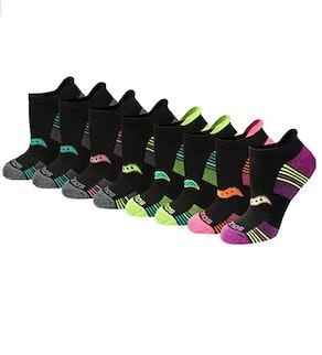 Saucony Performance Heel Tab Athletic Socks (8-Pairs)