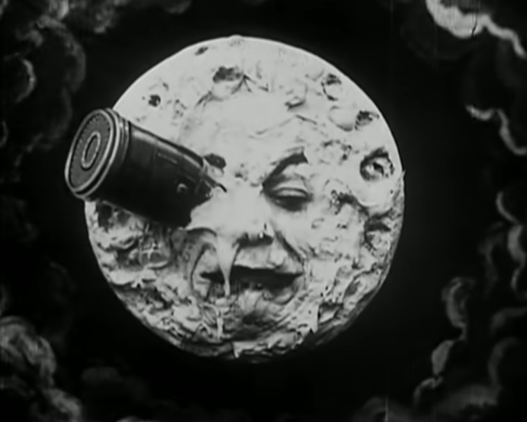 A Voyage to the Moon film screenshot