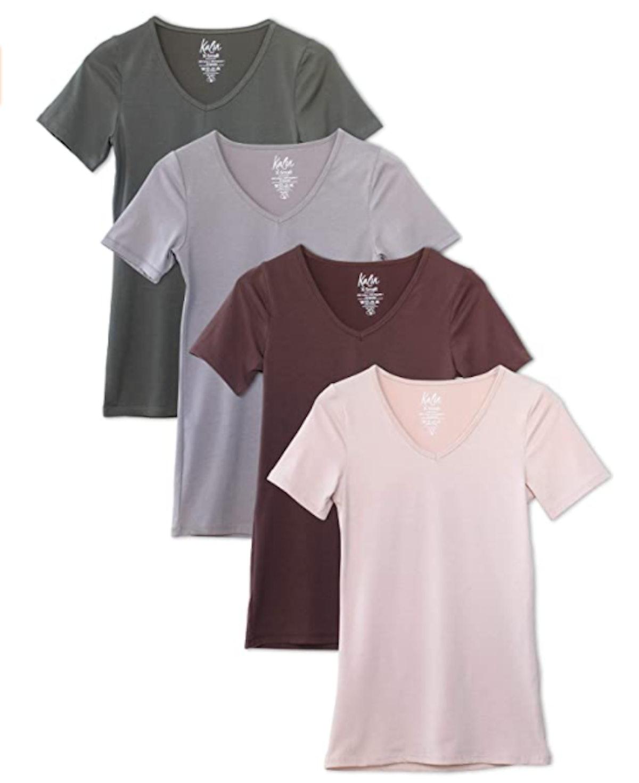 Kalon V-Neck T-Shirt (4-Pack)