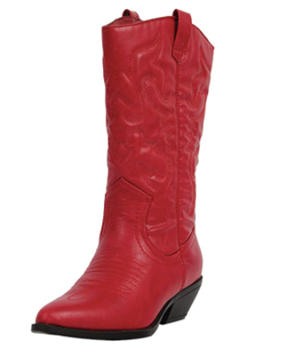Soda Cowboy Western Stitched Boots