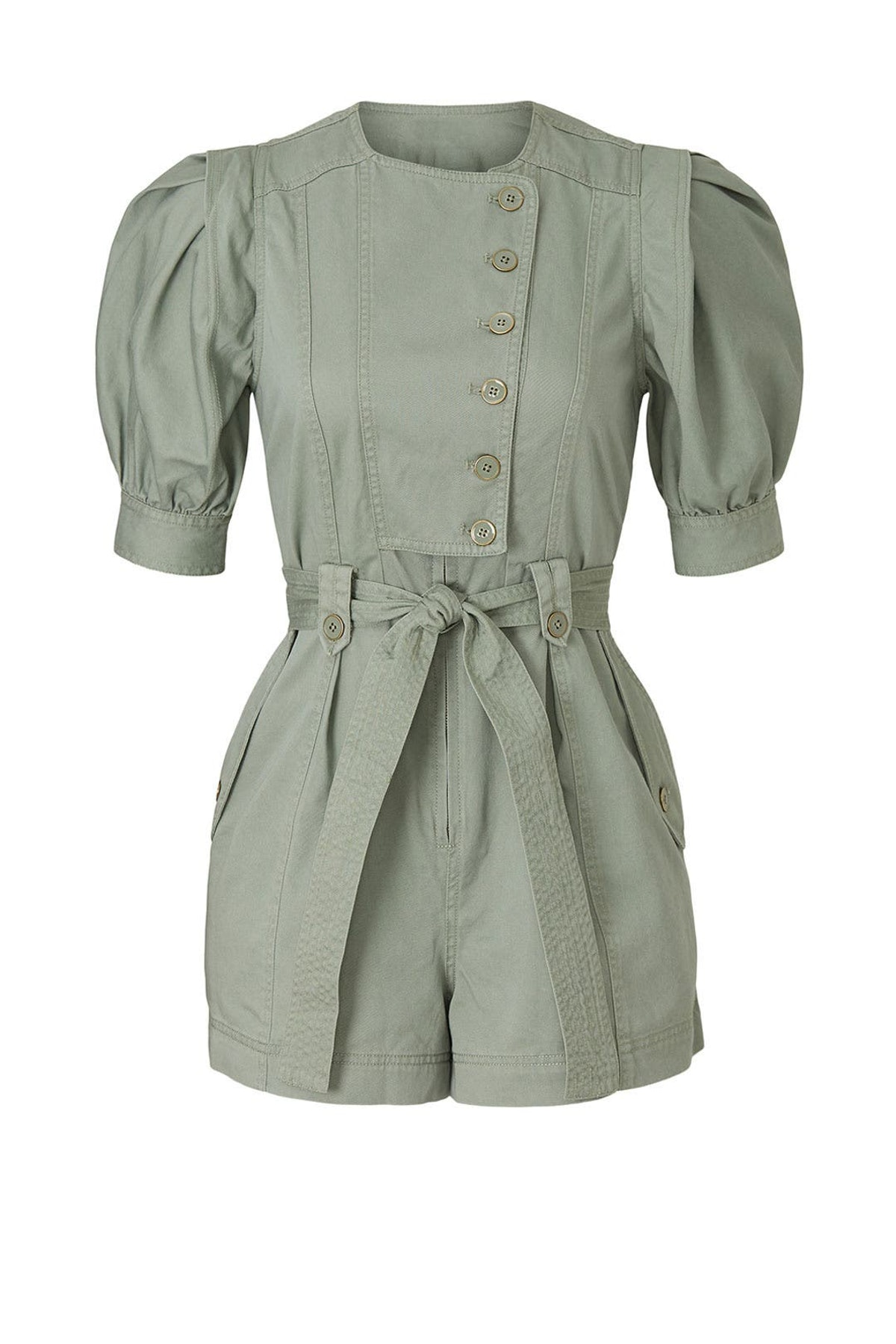 Carmine romper from Ulla Johnson, available to shop or rent via Rent The Runway.