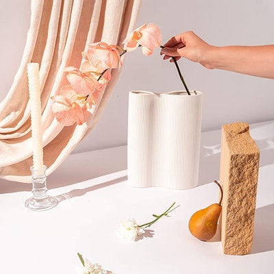 Virtune Infinity White Vase