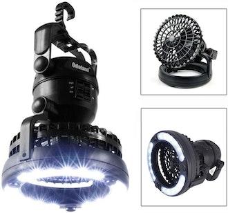 Odoland Portable Lantern with Ceiling Fan