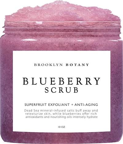 Brooklyn Botany Blueberry Body Scrub (10 Oz)