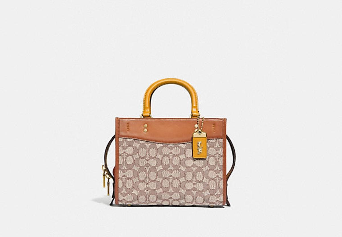 Coach Rogue 25 bag in Signature Textile Jacquard.