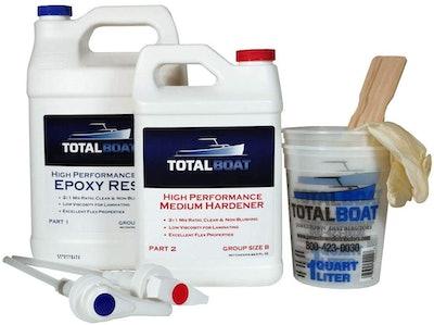 TotalBoat  2:1 Epoxy resin Kit, 128 Oz.