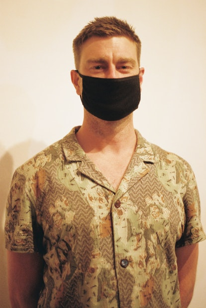 """Griffin Wenzler at Cory Feder's """"Walking Home on Wind"""" Exhibition in Los Angeles"""