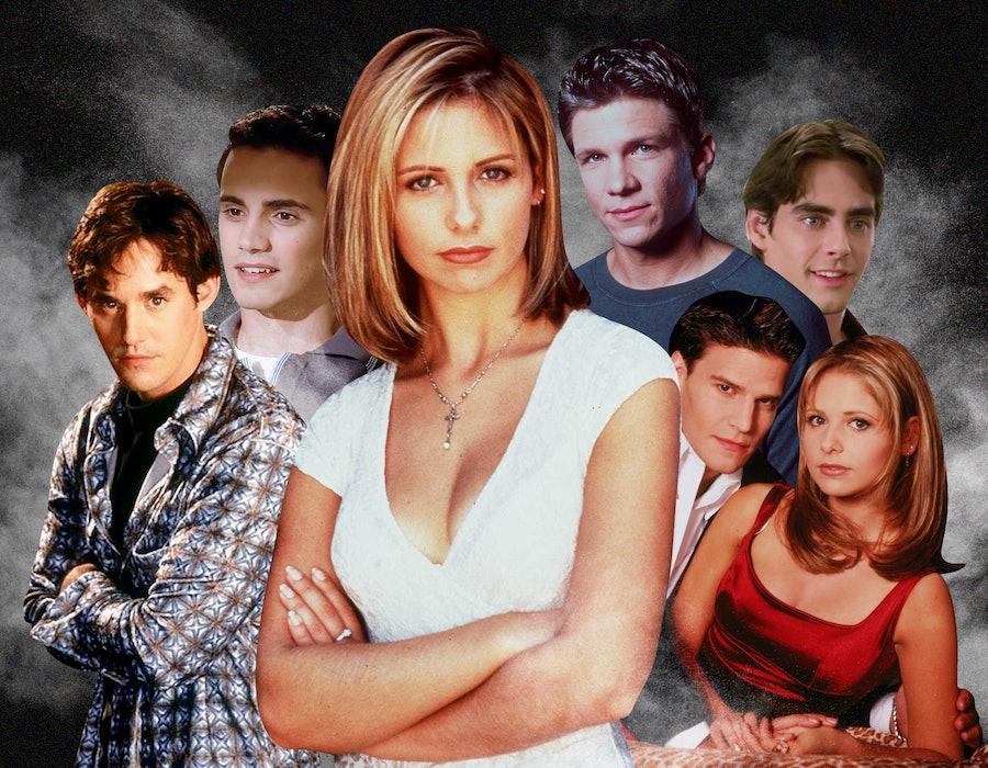 Buffy the Vampire Slayer and her many terrible boyfriends.