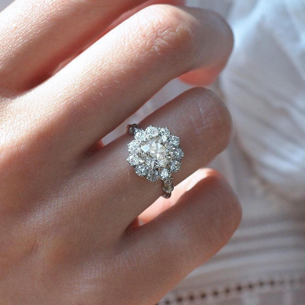 diamond rings on instagram