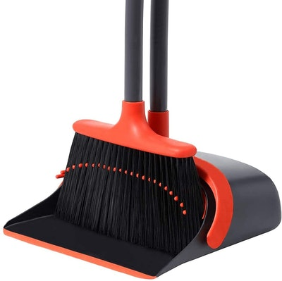 YANXUS Broom and Dust Pan Set