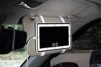 Cutygirl Car Sun Visor Mirror with LED Lights