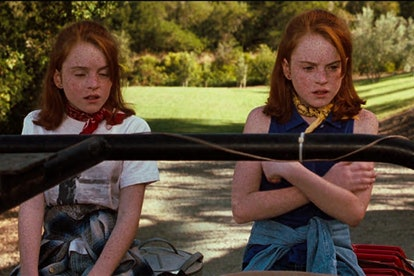 Lynsey Lohan works twice as hard as the twins in The Parent Trap