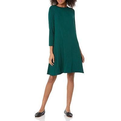 Amazon Essentials Boatneck Swing Dress