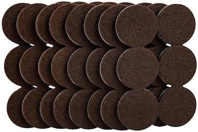 Super Sliders Self-Stick Felt Furniture Pads (48-Pack)