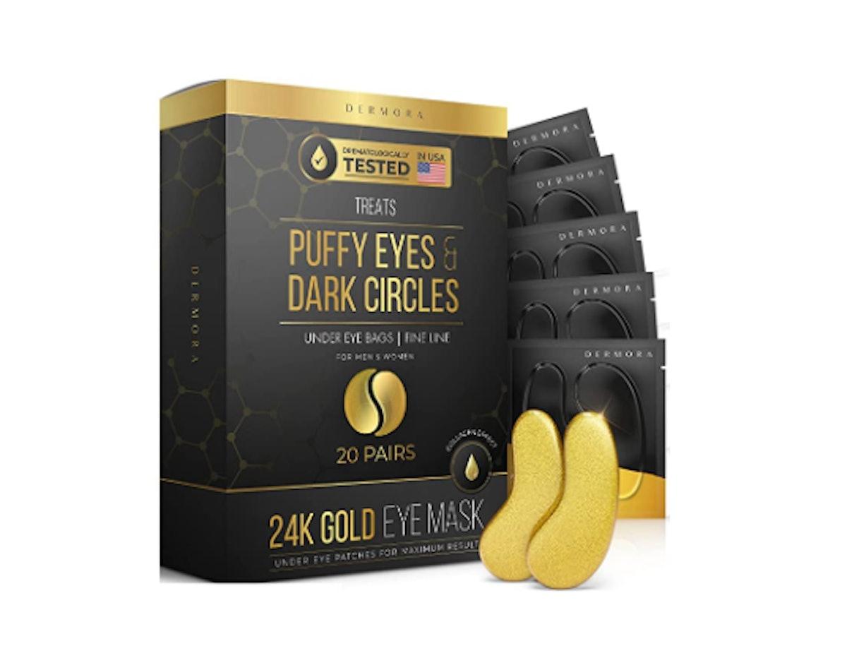 DERMORA 24K Gold Eye Mask