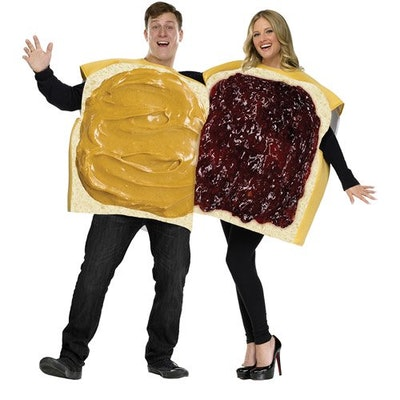 Peanut Butter and Jelly Adult Couple Halloween Costume