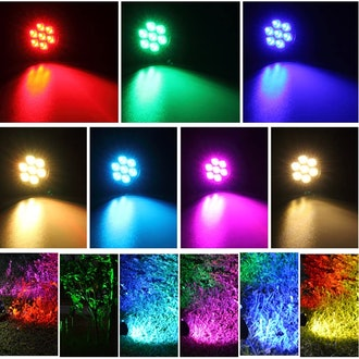 T-SUN Color Changing Solar Spotlights (2-Pack)
