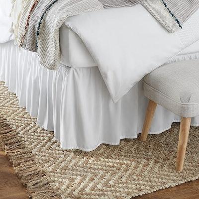 Amazon Basics Ruffled Bed Skirt