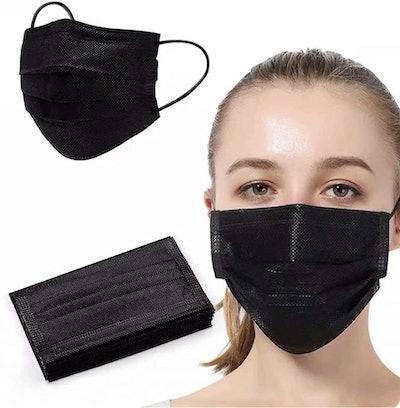 Wanwane Black Face Mask (100-Pack)