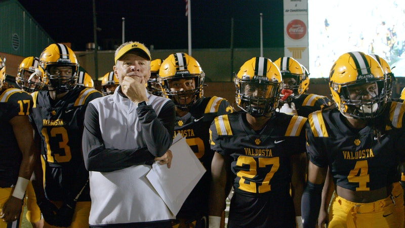 Coach Rush Propst ready to lead the Valdosta Wildcats onto the football field.