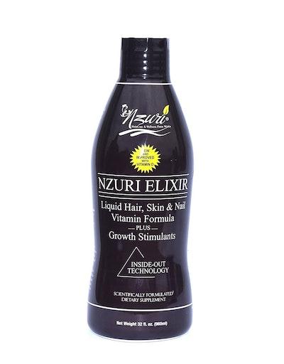 Nzuri Elixir Liquid Hair, Skin & Nail Vitamin Formula