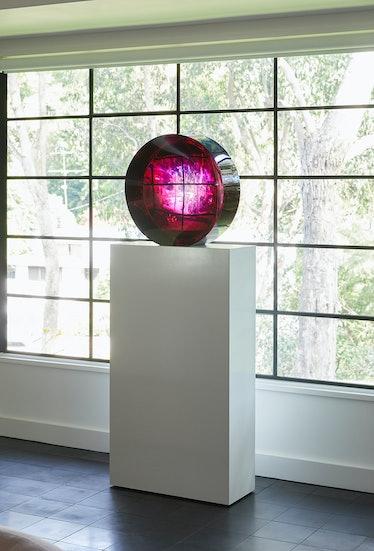 Fred Eversley, Untitled (Parabolic Lens), 1974/2018.