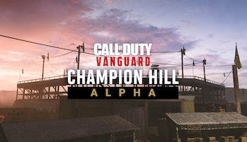 call of duty vanguard alpha logo