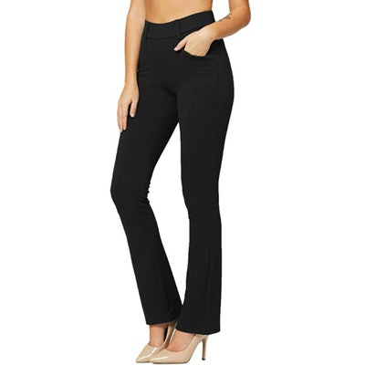 Conceited Stretch Dress Pants with Pockets