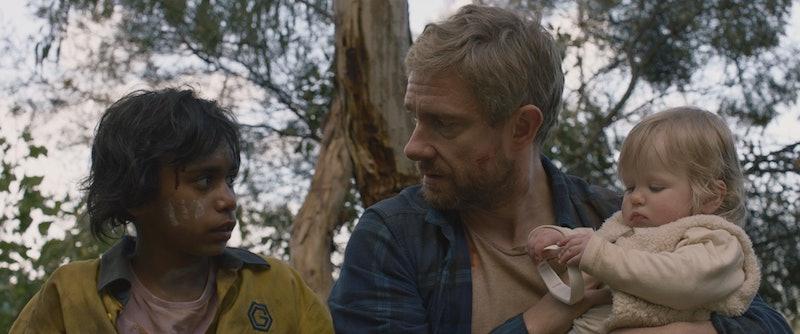 "Simone Leaders and Martin Freeman in ""Cargo."""