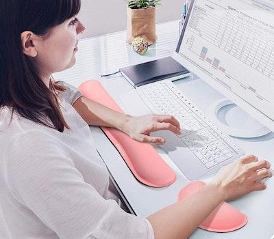 Gimars Memory Foam Keyboard Wrist Rest