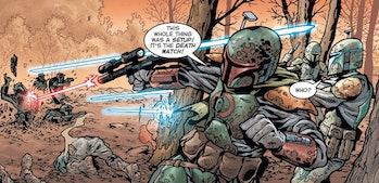 Mandalorian Jaster Mereel Civil War Death Watch comics