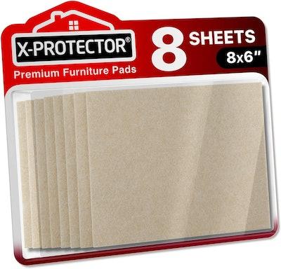 X-Protector Premium Felt Furniture Pads (8 Pieces)