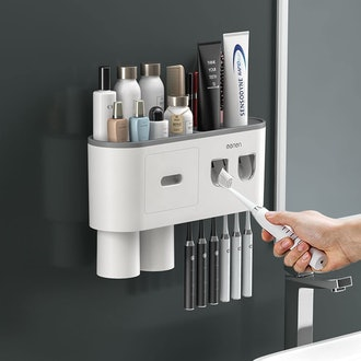 BHeadCat Double Automatic Toothpaste Dispenser