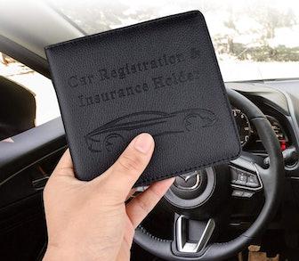 Cacturism Car Registration and Insurance Holder