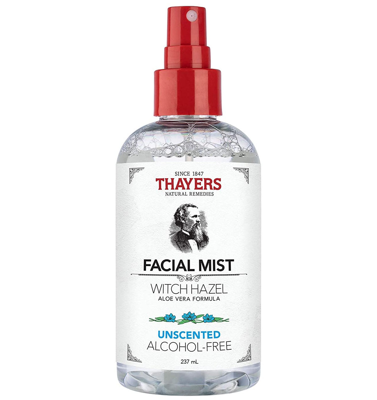 Thayers Unscented Alcohol Free Witch Hazel Facial Mist Toner