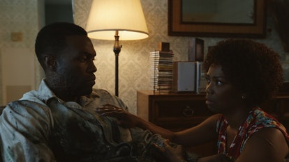 Yahya Abdul-Mateen and Vanessa Estelle Williams in 'Candyman' (2021).