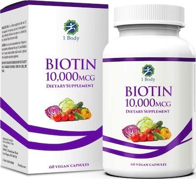 1 Body Store Vegan Biotin Supplement