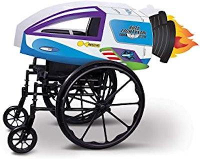 Buzz Lightyear Spaceship Adaptive Wheelchair Cover